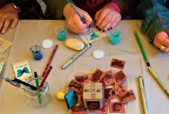 Tout l'été, ateliers d'Arts Plastiques à Le Vivier-sur-Mer