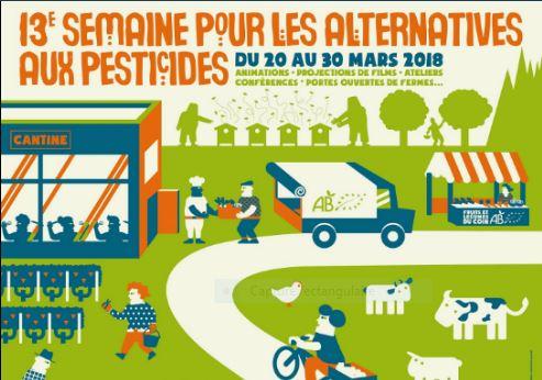 13ème Semaine pour les alternatives aux pesticides (SPAP) – 20 au 30 mars 2018
