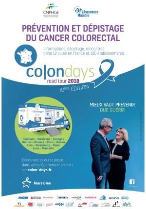 MARS BLEU : le dépistage du cancer colorectal