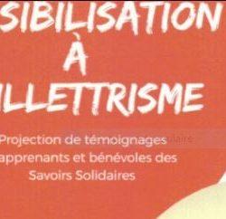 SENSIBILISATION A L'ILLETTRISME