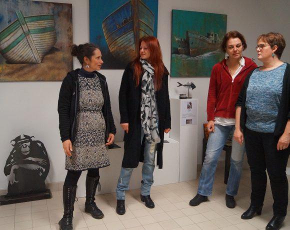 Exposition des œuvres de Caroline Fays et Aurélie Oberlé