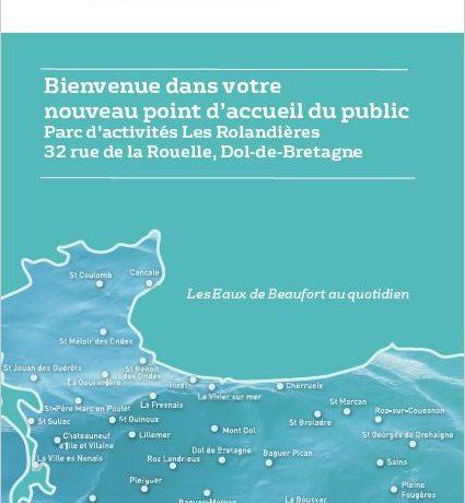 Syndicat des Eaux de Beaufort : nouveau point d'accueil au public