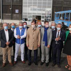Le Commissaire européen à l'environnement en visite au Vivier sur mer : la qualité de l'eau au cœur des discussions