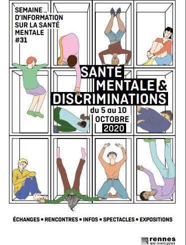 Semaine d'Information sur la Santé Mentale : Programme du 5 au 10 octobre 2020