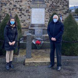 Hommage aux «morts pour la France» pendant la guerre d 'Algérie et les combats du Maroc et de Tunisie