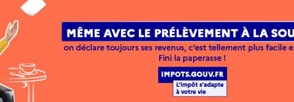 Campagne de déclaration des revenus : ouverture des services en ligne !